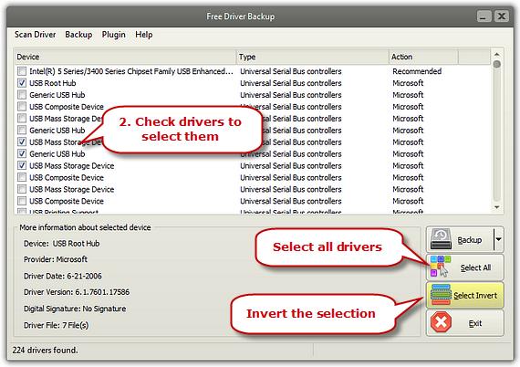 Select Drivers